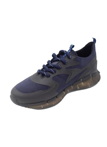 La scada 12532 Sıyah-Lacıvert Erkek Spor Ayakkabı Siyah